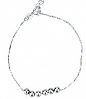 B-E20.4 B103-030 925 Sterling Silver Bracelet Balls