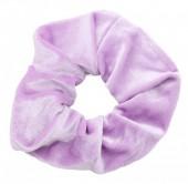 S-E7.2 H305-009 Scrunchie Velvet Purple