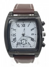 C-C16.3 W421-004A Quartz Watch with Date 40x45mm Brown