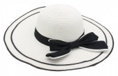 Q-F6.2  HAT315-002 Hat with Bow White