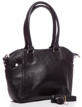 Q-H1.1   BAG-788 Luxury Leather Bag 39x24x10cm Black