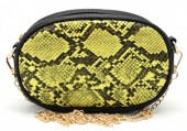 L-A6.1 BAG322-002 Festival Belt-Shoulder Bag incl Belt 19x12x7cm Yellow