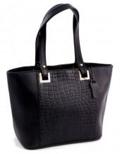 K-C3.1 Luxury Leather Bag 38x24cm Black