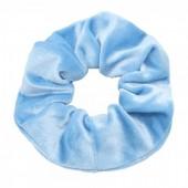 S-G7.2  H305-009 Scrunchie Velvet Blue