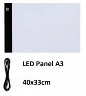 Z-D1.1 TOOL2121-004A LED Panel XL A3 40x33cm