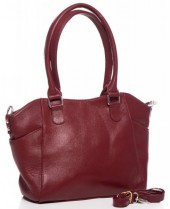 R-A7.1 BAG-788 Luxury Leather Bag 39x24x10cm Red