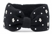T-D6.2 H401-003A Headband with Crystals Black