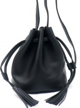 Q-F7.1 BAG417-011A PU Pouch Bag Black